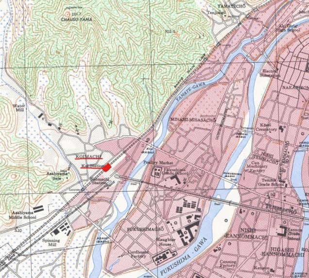 1945年米軍による広島地図_koi